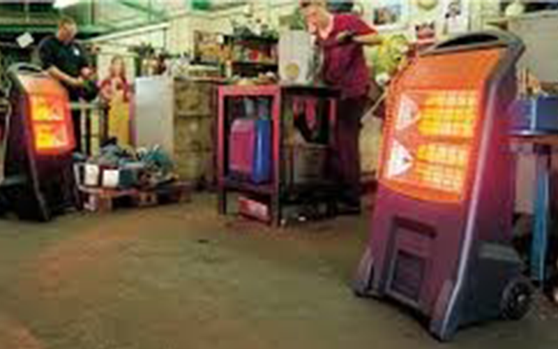 Safe use of electric heaters